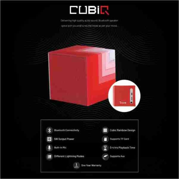 Trovo, CUBIQ BT Speaker