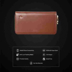 Trovo, Anti Lost Wallet With 5000mAh PB