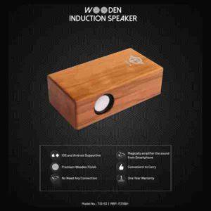trovo, wooden induction speaker